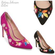 Betsey Johnson★Alexis Embellished Pumps パンプス