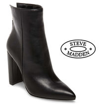 【Steve Madden】TRISTA BLACK LEATHER