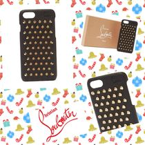 Christian Louboutin/ Loubiphone leather iPhone 7 & 8 case
