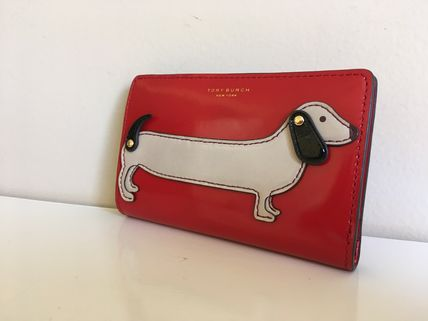 TORY BURCH DACHSHUND SLIM WALLET セール 即発送