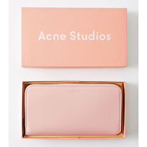 Acne☆Continental wallet  長財布 / powder pink