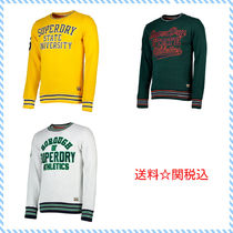 全3色☆Superdry Academy Tipped Applique Crew☆送料関税込