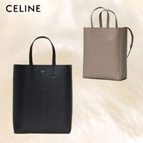 【CELINE】SMALL CABAS IN GRAINED CALFSKIN 2色展開☆