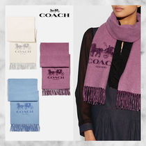 【Coach】 Horse And Carriage カシミア マフラー