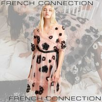 FRENCH CONNECTION(フレンチコネクション) ワンピース French connection Josephine Embellished Fit and Flare Dress
