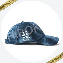 Anti Social Social Club COWBOY Navy / Green Denim WEIRD CAP