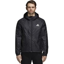 ADIDAS★Short Hooded Winter Jacket ブラック