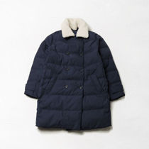 American Eagle Outfitters(アメリカンイーグル) ダウンジャケット [AEO] [勝負] [公共] Common Solid Sherpa Mid Down Jacket