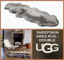 [セール]UGG☆SHEEPSKIN AREA RUG - DOUBLE☆ラグ