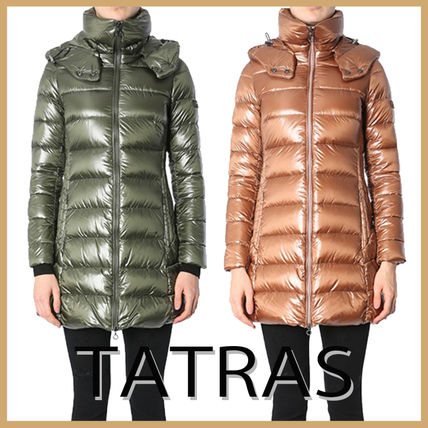 "【TATRAS】""BABILA"" POLISHED NYLON HOODED JACKET"