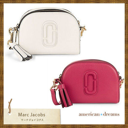 SALE! marc jacobs Shutter Small レザークロスボディーバッグ