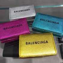 速達EMS便【BALENCIAGA】Everyday Mini Metalic3つ折り財布☆4色