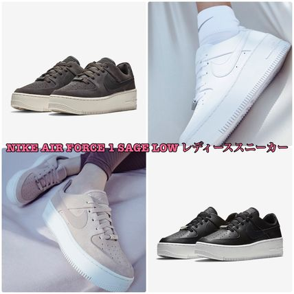 NIKE AIR FORCE 1(ナイキエアフォースワン) SAGE LOWレディーススニーカー