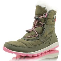 ソレル SOREL NY1897-371 YOUTH WHITNEY SHORT LACE HIKER GREEN