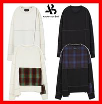 ANDERSSON BELL(アンダースンベル) スウェット・トレーナー 【ANDERSSON BELL】★STITCH POINT WOOL PATCH SWEATSHIRT★2色