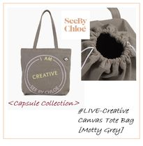 See by Chloe #LIVE-Creative- #トートバッグ【MOTTY GREY】
