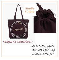 See by Chloe #LIVE-Romantic- #トートバッグ【Obscure Purple】