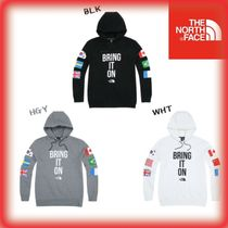 「THE NORTH FACE」★日本未入荷 M'S FLAG HOODIE 国旗柄 3色