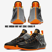 NIKE★JORDAN WHY NOT ZERO.1 CHAOS PF★BLACK/TOTAL ORANGE