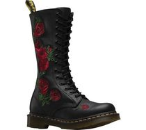 【SALE】Dr. Martens Embroidery Vonda 14 Eye Boot