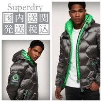 送料 関税込☆Superdry Hex Tech Racer Down Puffa☆大人気