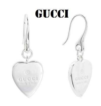 4f34d534cac BUYMA|GUCCI Sterling Silver Trademark Heart Earrings 39774012