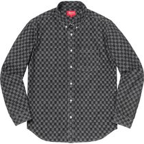 Supreme  シュプリーム Checkered Denim Shirt AW 18 WEEK 14