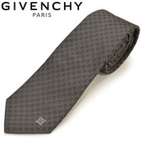 GIVENCHY(ジバンシィ) ネクタイ GIVENCHY ジバンシィ ネクタイ ナロータイ ロゴマーク egy006