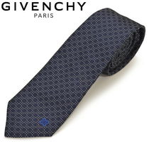 GIVENCHY(ジバンシィ) ネクタイ GIVENCHY ジバンシィ ネクタイ ナロータイ ロゴマーク egy007