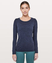 ゆったりフィット*Swiftly Tech Long Sleeve / Gatsby Blue