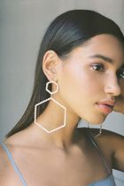★人気商品★Selena Statement Hex Drop Earring★日本未入荷★