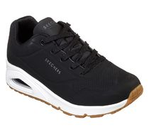 SKECHERS UNO - STAND ON AIR BLACK/WHITE