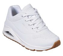 SKECHERS UNO - STAND ON AIR WHITE スケッチャーズ