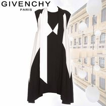 GIVENCHY ジバンシー ワンピース バイカラー モノトーン Aライン