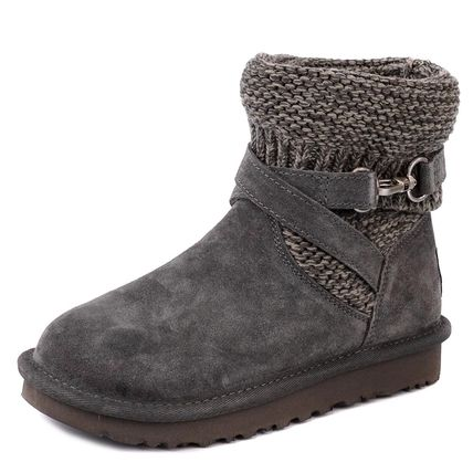 UGG ブーツ PURL STRAP BOOT CHARCOAL f18aw1098080chrc