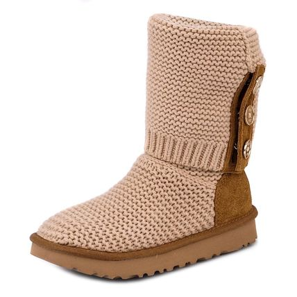 UGG ブーツ PURL CARDY KNIT BOOT 2WAY CREAM f18aw1094949crm