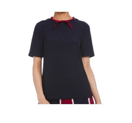 TED BAKER Tシャツ・カットソー TED BAKER  ★ リボンがキュート Tシャツ  ダークブルー