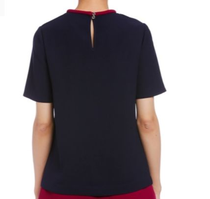 TED BAKER Tシャツ・カットソー TED BAKER  ★ リボンがキュート Tシャツ  ダークブルー(3)