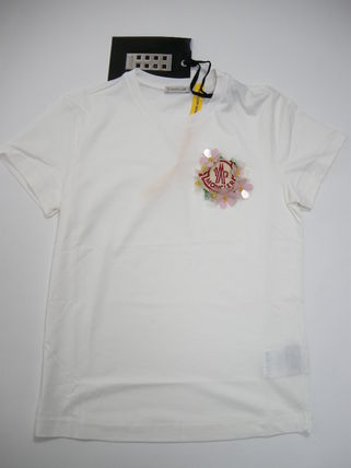 MONCLER Tシャツ・カットソー size 40-44◆確保済◆関税なし◆国内発送◆MONCLERロゴTシャツ(4)