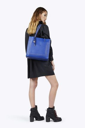 【MARC JACOBS】The Grind Tレザートートバッグ