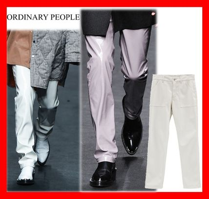Collection【Ordinary People】enamel straight pants 3色☆