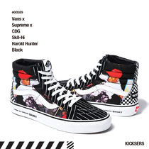 人気コラボ!Vans x Supreme x CDG Sk8-Hi Harold Hunter Black