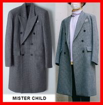 ★韓国の人気★【MISTER CHILD】★DADCORE CHECK DOUBLE COAT★