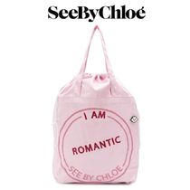 【18AW★SALE!】★SEE BY CHLOE★I Am Romanticトートバッグ