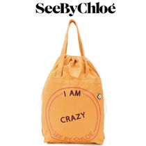 【18AW★SALE!】★SEE BY CHLOE★I Am Romantic tote