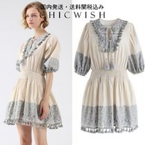 Chicwish☆Draw Your Attention Tassels Boho Embroidered Dress