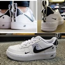 大人も履ける! (22.5-25cm)NIKE AIR FORCE 1 LV8 UTILITY GS