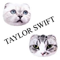 TaylorS*US発*国内発送(追跡有)送関込*Catsピロー2点セット