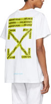 OFF-WHITE // FIRETAPE S/S T-SHIRT Tシャツ ホワイト