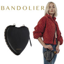 iPhone全機種対応! Bandolier Sarah Heart Pebble Leather Pouch